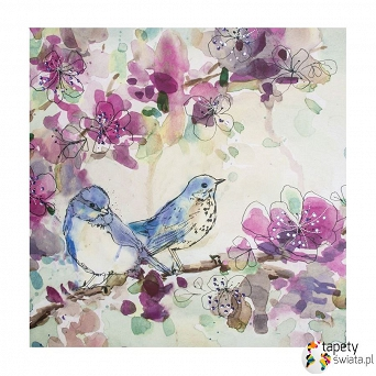 101562 Obraz Spring Birds Graham&Brown