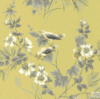 TAPETA ŚCIENNA 1838 Wallcoverings 1601-100-01 ROSEMORE
