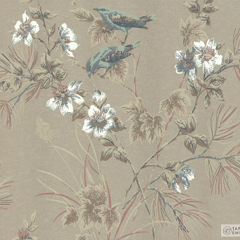 TAPETA ŚCIENNA 1838 Wallcoverings 1601-100-04 ROSEMORE