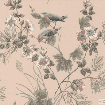 TAPETA ŚCIENNA 1838 Wallcoverings 1601-100-02 ROSEMORE