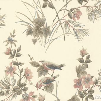 TAPETA ŚCIENNA 1838 Wallcoverings 1601-100-03 ROSEMORE